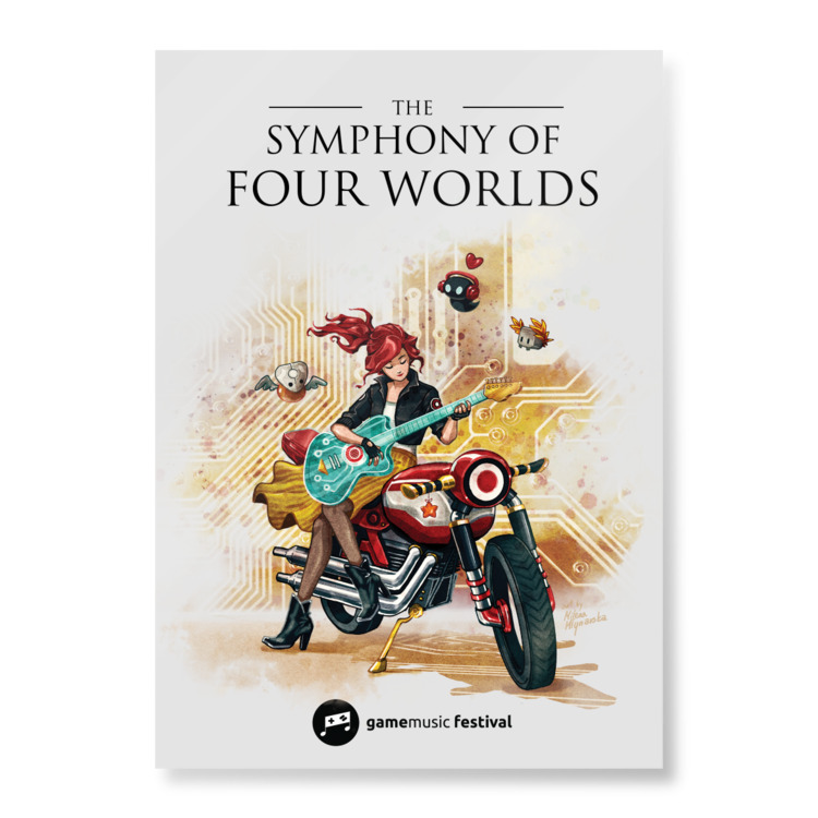 Four Worlds Poster